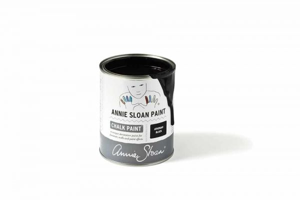 Athenian Black Chalk Paint tin 1 litre