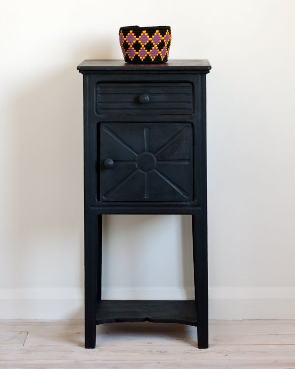 Athenian Black side table 1600