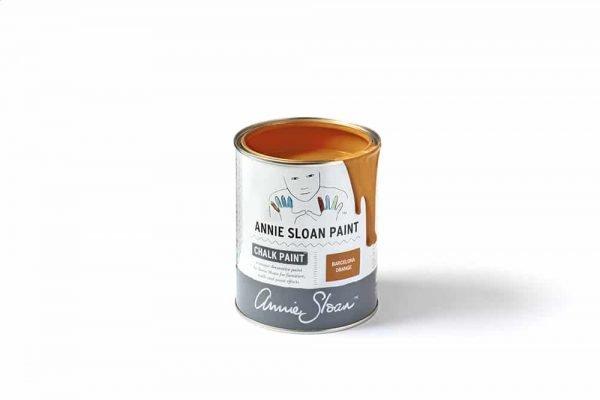 Barcelona Orange Chalk Paint tin 1 litre