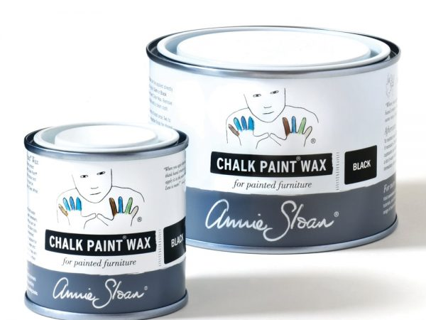 Black Chalk Paint Wax non haz 500ml and 120ml