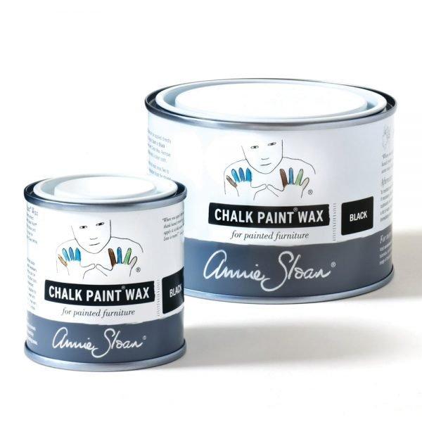 Black Chalk Paint Wax non haz 500ml and 120ml