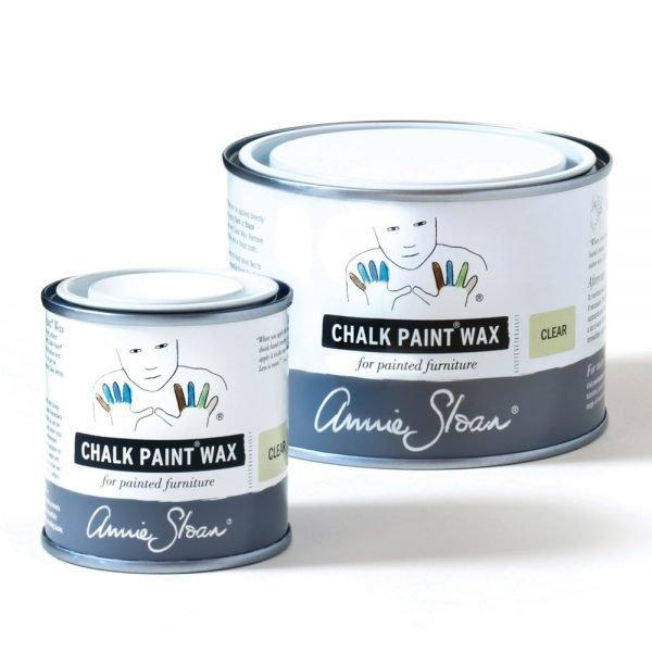 Clear Chalk Paint Wax non haz 500ml and 120ml