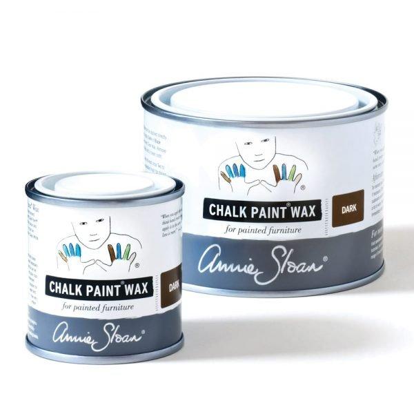 Dark Chalk Paint Wax non haz 500ml and 120ml