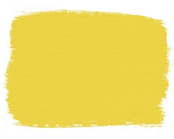 English Yellow Chalk Paint swatch 1