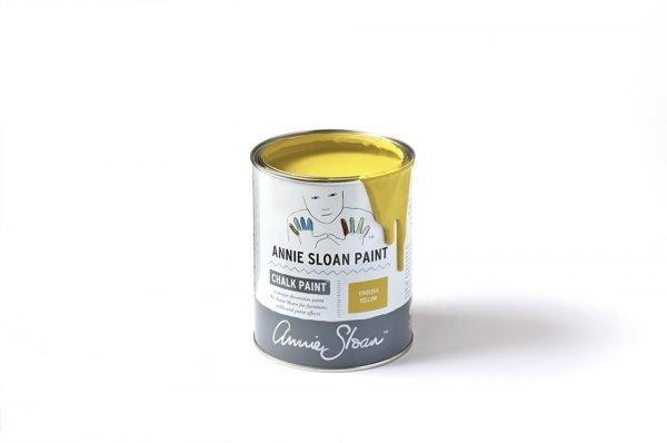 English Yellow Chalk Paint tin 1 litre