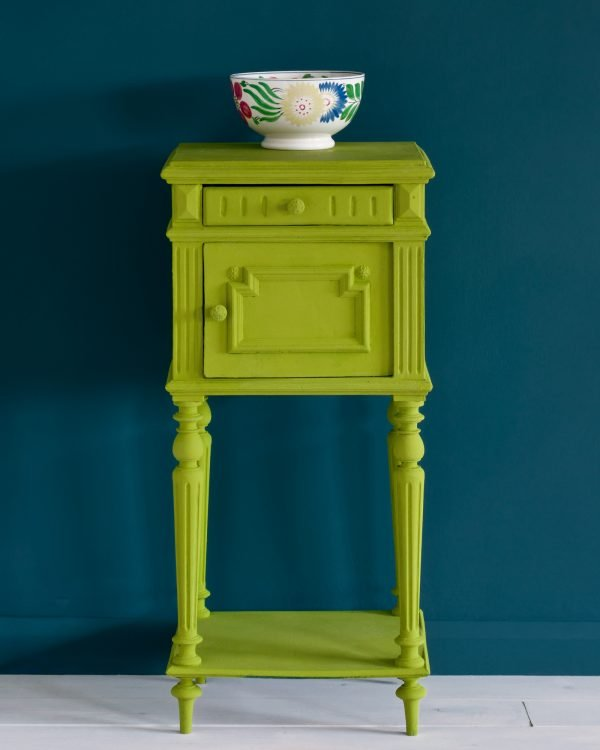 Firle side table Aubusson Blue Wall Paint 1600