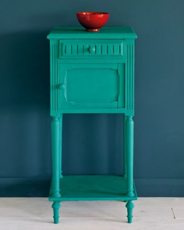 Florence side table Aubusson Blue Wall Paint 1600