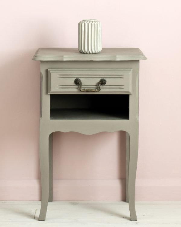 French Linen side table Antoinette Wall Paint 1600
