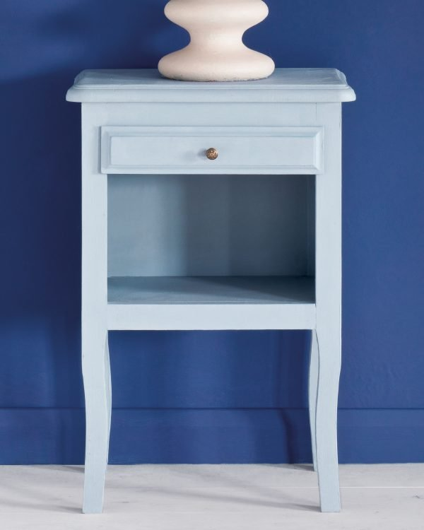 Louis Blue side table Napoleonic Blue Wall Paint 1600