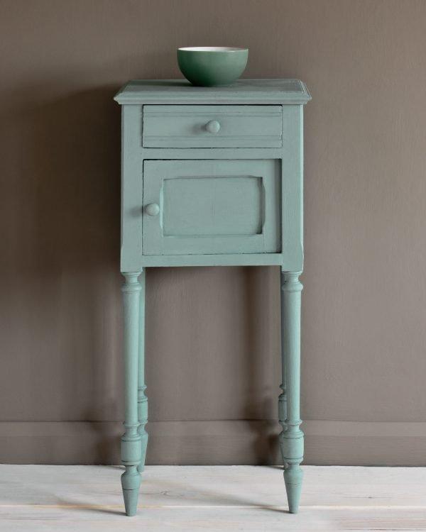 Svenska Blue side table French Linen Wall Paint 1600