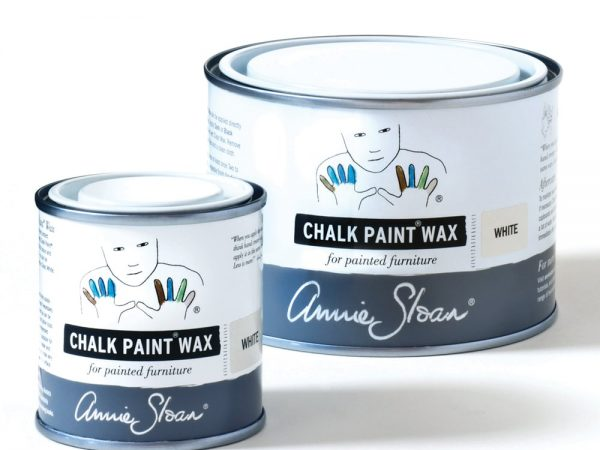 White Chalk Paint Wax non haz 500ml and 120ml