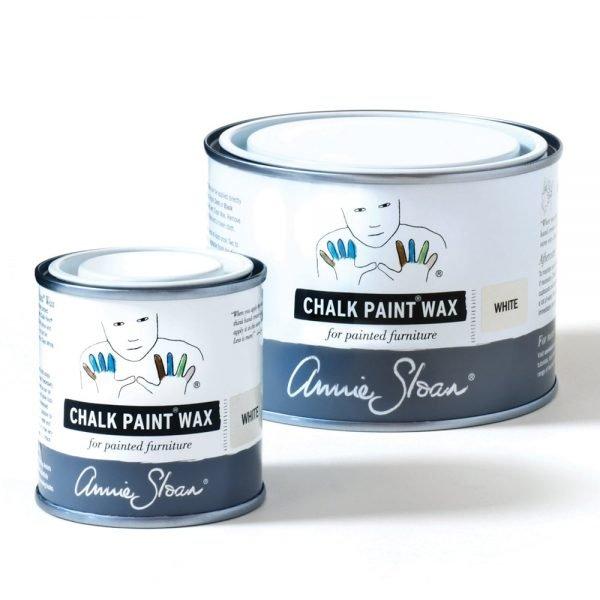 White Chalk Paint Wax non haz 500ml and 120ml