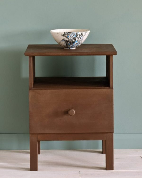 Honfleur side table Duck Egg Blue Wall Paint 1600 900x1125 1