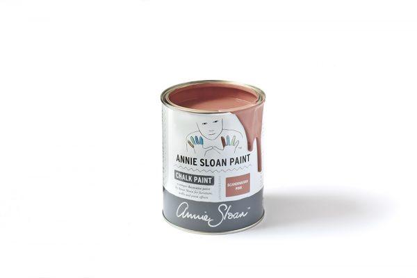 Scandinavian Pink Chalk Paint tin 1 litre