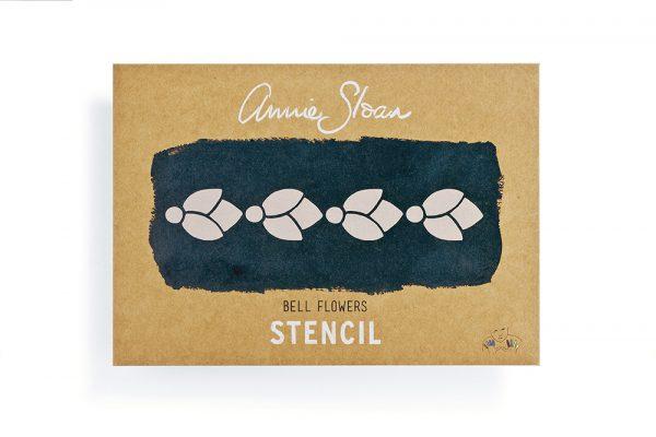 Annie Sloan Stencil Bell Flowers