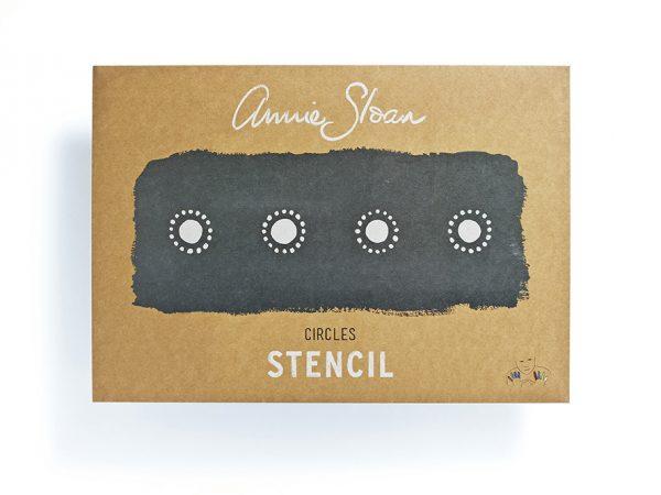 Annie Sloan Stencil Circles