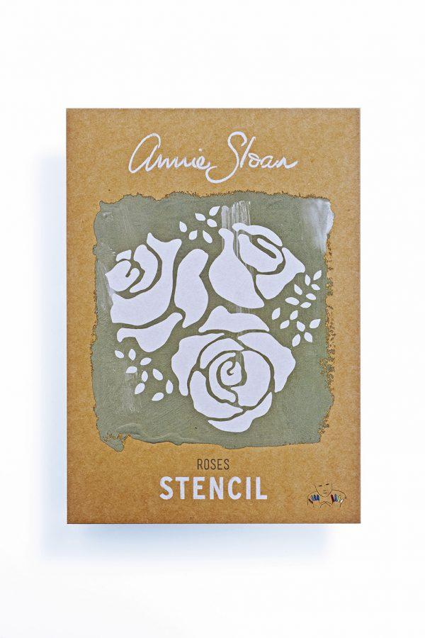 Annie Sloan Stencil Roses
