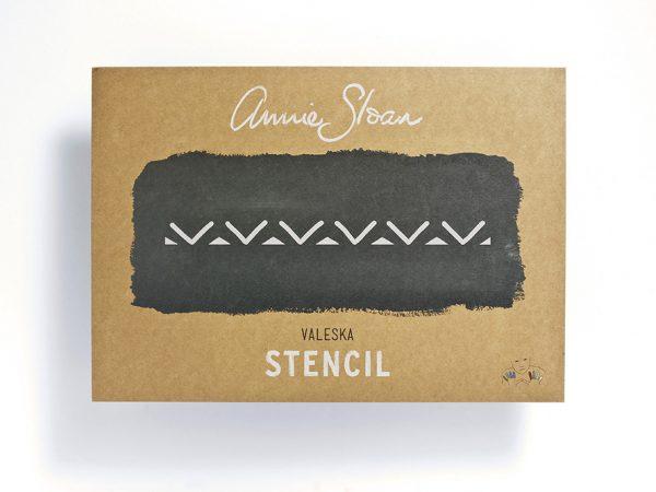 Annie Sloan Stencil Valeska